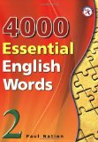 4000 ESSENTIAL ENGLISH WORDS,BOOK 2     N/A edition cover