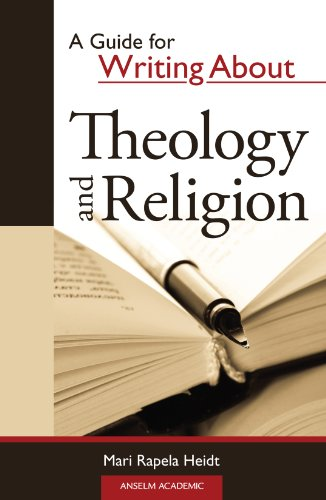 Guide for Writing about Theology and Religion  N/A edition cover