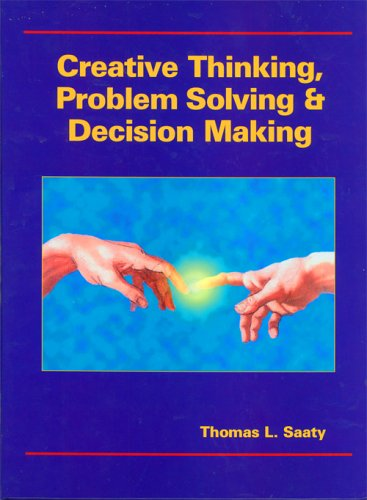 Creative Thinking, Problem Solving and Decision Making   2001 edition cover