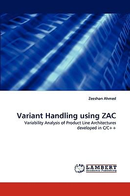 Variant Handling Using Zac  N/A 9783838341033 Front Cover