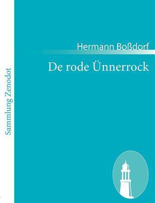 De Rode �nnerrock   2010 9783843051033 Front Cover