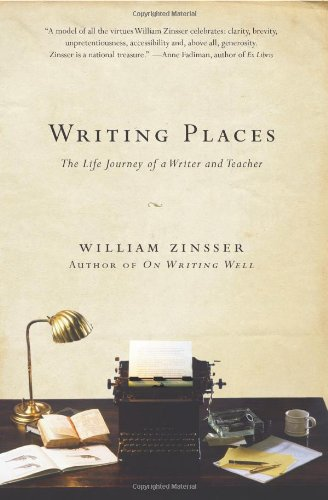 Writing Places The Life Journey of a Writer and Teacher N/A edition cover