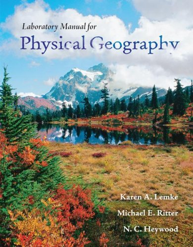 Physical Geography Lab Manual   2009 edition cover