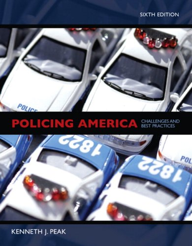 Policing America Challenges and Best Practices 6th 2009 edition cover
