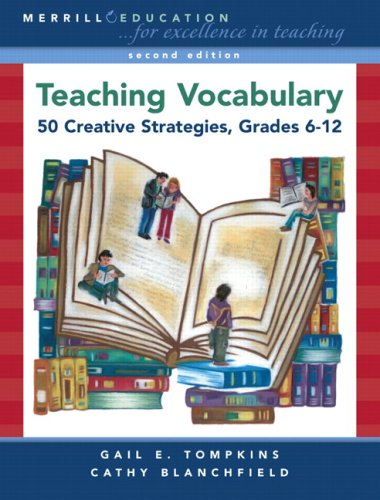 Teaching Vocabulary 50 Creative Strategies, Grades 6-12 2nd 2008 edition cover
