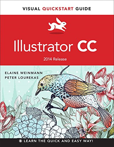Illustrator CC Visual QuickStart Guide (2014 Release)  2015 9780133987034 Front Cover