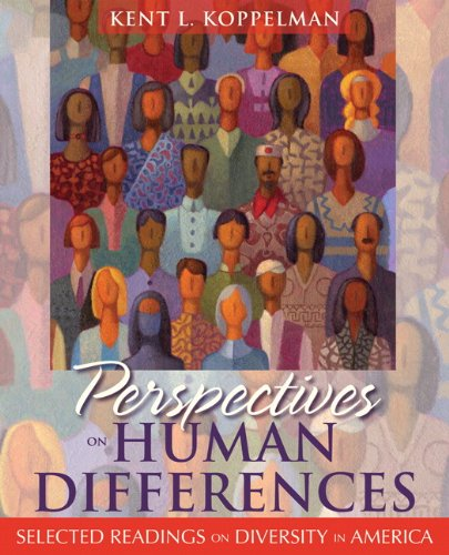 Perspectives on Human Differences Selected Readings on Diversity in America  2011 edition cover