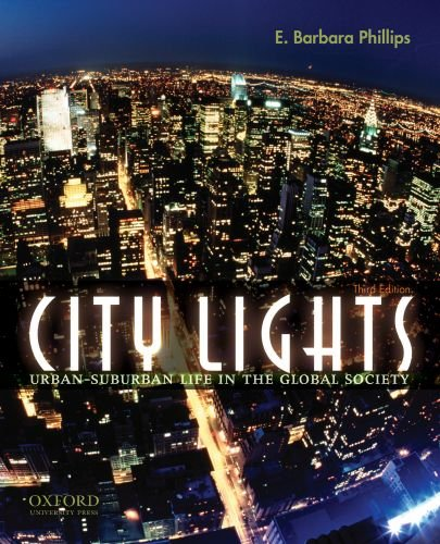 City Lights Urban-Suburban Life in the Global Society 3rd 2008 edition cover
