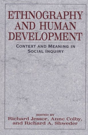 Ethnography and Human Development Context and Meaning in Social Inquiry  1996 edition cover