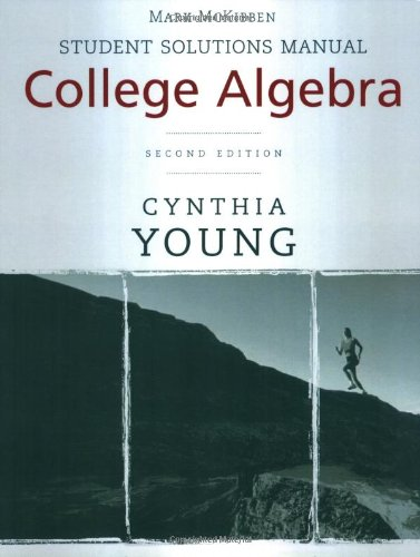 College Algebra  2nd 2009 9780470417034 Front Cover