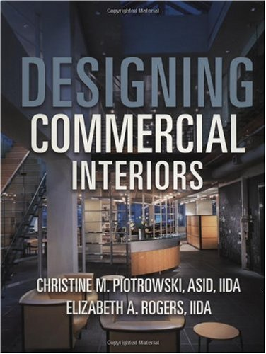 Designing Commercial Interiors  1st 1999 9780471171034 Front Cover