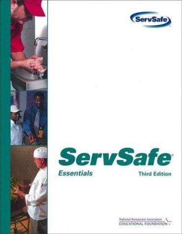 ServSafe Essentials with the Scantron Certification Exam Form  3rd 2004 (Revised) 9780471478034 Front Cover