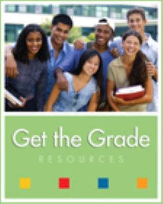 Get the Grade Resources  2002 (Student Manual, Study Guide, etc.) 9780534531034 Front Cover