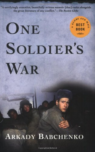 One Soldier's War  N/A edition cover