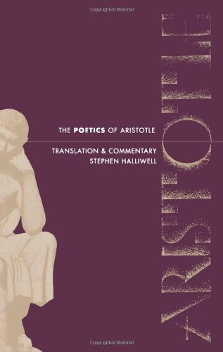 Poetics of Aristotle Translation and Commentary  1987 edition cover