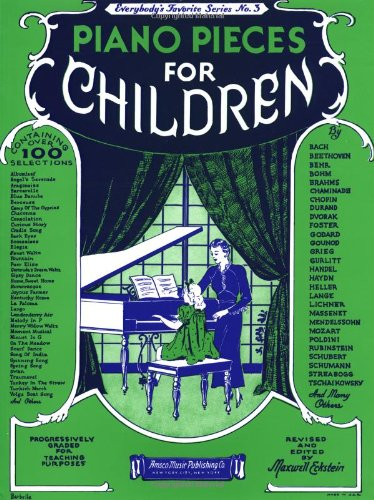 Piano Pieces for Children  N/A edition cover