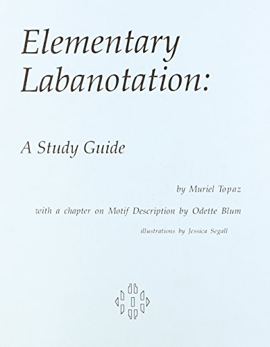 Elementary Labanotation   1996 (Student Manual, Study Guide, etc.) 9780871272034 Front Cover