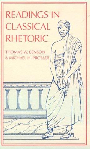 Readings in Classical Rhetoric   1995 (Reprint) edition cover