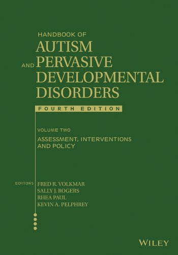 Handbook of Autism and Pervasive Developmental Disorders Assessment, Interventions, and Policy 4th 2014 edition cover