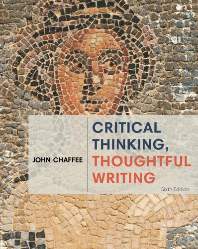 Critical Thinking, Thoughtful Writing:   2014 edition cover