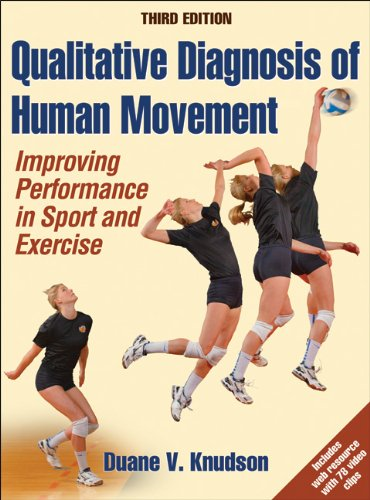 Qualitative Diagnosis of Human Movement with Web Resource-3rd Edition Improving Peformance in Sport and Exercise 3rd 2013 edition cover