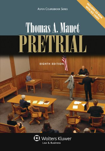 Pretrial  8th 2012 (Revised) edition cover
