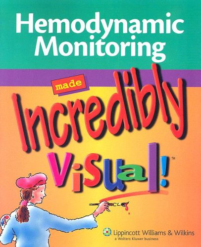 Hemodynamic Monitoring Made Incredibly Visual!   2007 edition cover
