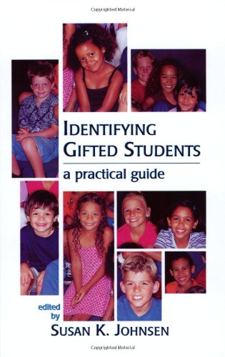 Identifying Gifted Students A Practical Guide  2004 edition cover