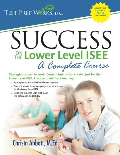 Success on the Lower Level ISEE  N/A 9781939090034 Front Cover
