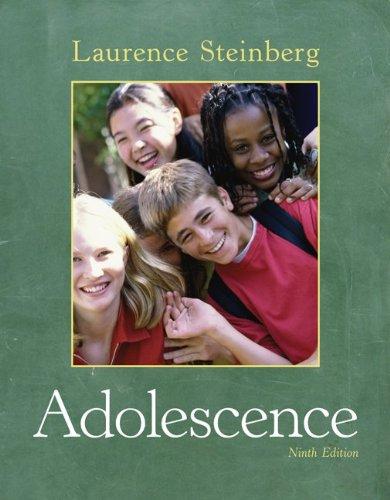 Adolescence  9th 2011 edition cover