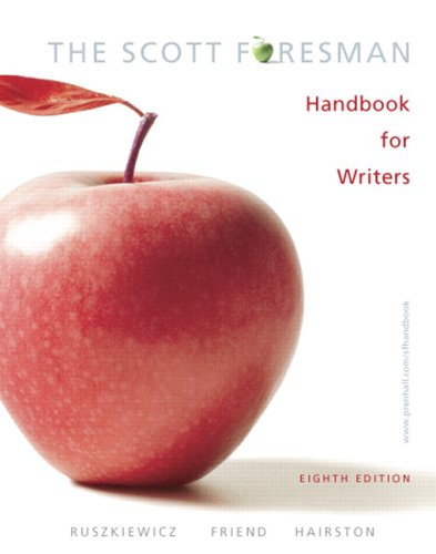 Scott Foresman Handbook for Writers  8th 2007 9780132370035 Front Cover