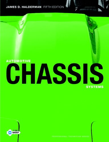 Automotive Chassis Systems  5th 2010 edition cover