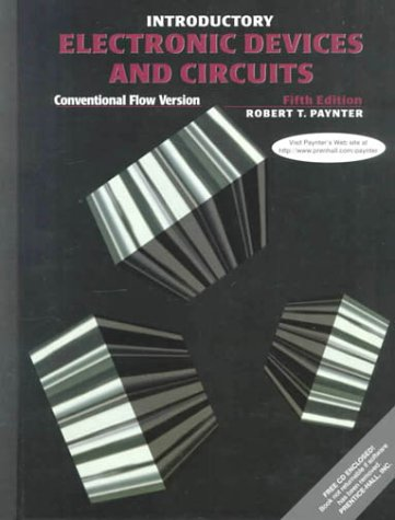 Introductory Electronic Devices and Circuits Conventional Flow Version 5th 2000 9780139272035 Front Cover
