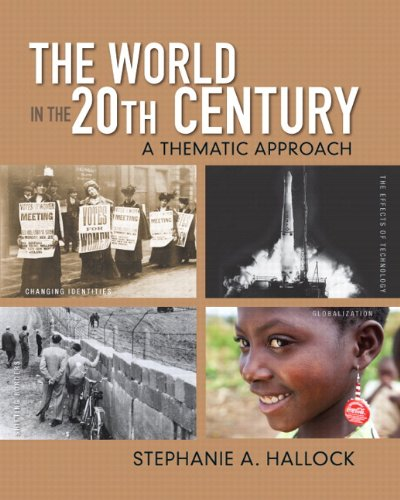 World in the 20th Century A Thematic Approach  2013 edition cover