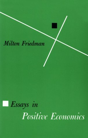 Essays in Positive Economics  N/A edition cover