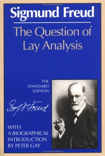 Question of Lay Analysis  Reprint  edition cover