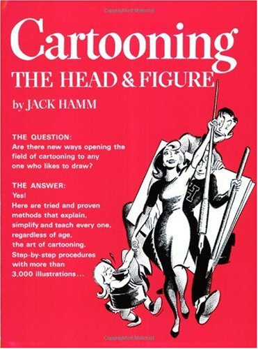 Cartooning the Head and Figure   1982 edition cover