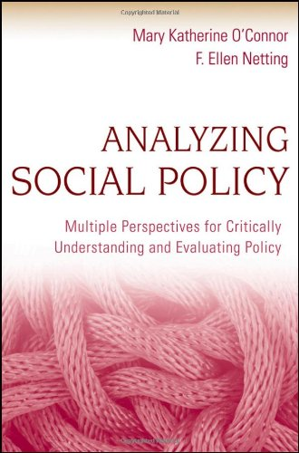 Analyzing Social Policy Multiple Perspectives for Critically Understanding and Evaluating Policy  2010 edition cover