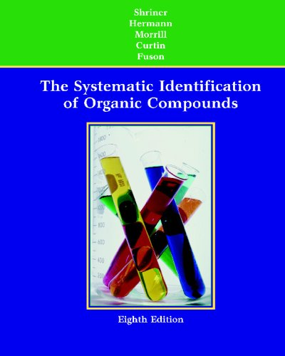 Systematic Identification of Organic Compounds  8th 2004 (Revised) edition cover