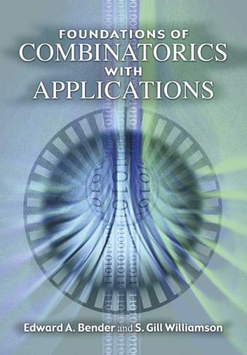 Foundations of Combinatorics with Applications   2006 edition cover