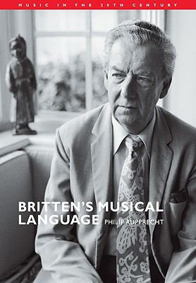Britten's Musical Language  N/A 9780521031035 Front Cover