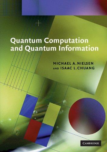 Quantum Computation and Quantum Information   2000 edition cover