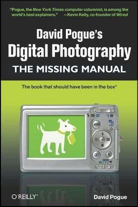 David Pogue's Digital Photography   2008 edition cover