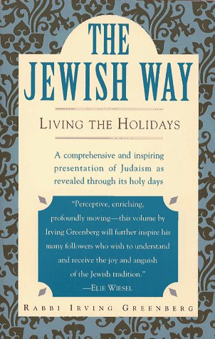 Jewish Way Living the Holidays  1993 (Reprint) edition cover