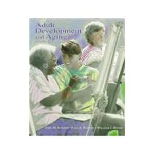Adult Development and Aging  3rd 1995 edition cover