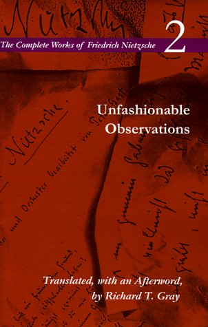 Unfashionable Observations   1995 edition cover