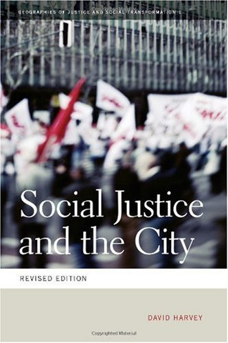 Social Justice and the City   1973 (Revised) edition cover