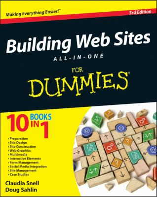 Building Websites All-in-One for Dummies�  3rd 2012 edition cover