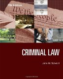 Criminal Law:   2014 edition cover