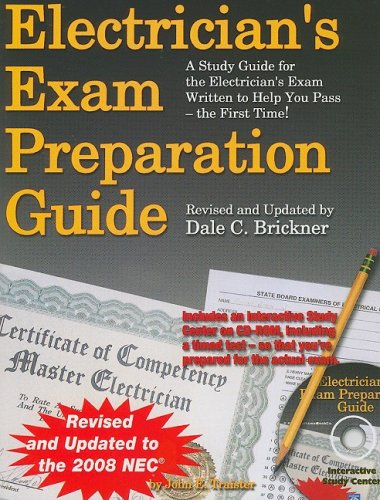 Electrician's Exam Prep Guide to the 2008 NEC 7th 2008 edition cover